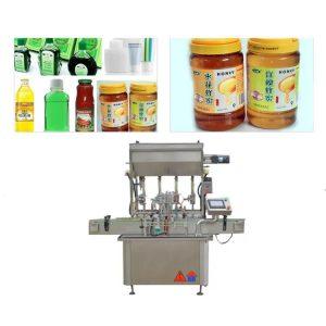 750 Kq 5 KW Soslu pasta butulka doldurma maşını