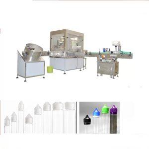Siemens toxunma ekranı interfeysi ilə elektron maye doldurma maşını